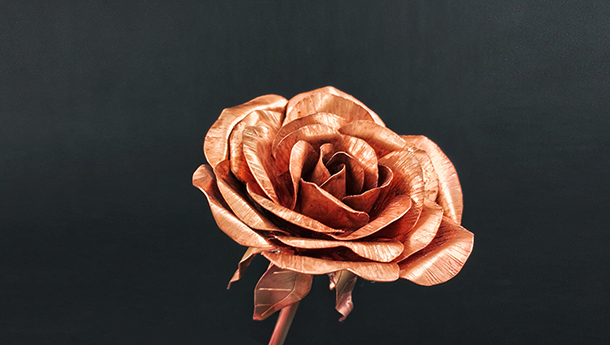 Artisan Series: Craft a copper rose with Master craftsman