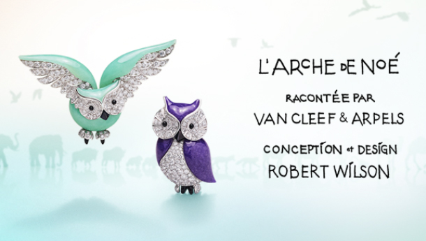 Discover the installation by Van Cleef & Arpels